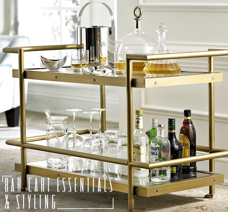 Bar Cart Essentials Styling Dapper Lounge